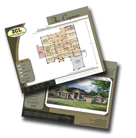 ocala marketing brochures for builders and developers floor plan